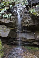 A Tiny Waterfall (zodia81) Tags: bridge nature river wv westvirginia fayetteville newriver newrivergorge fayettecounty archbridge