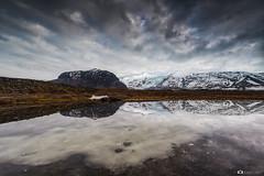 Reflection (Fabio tomat) Tags: winter sky lake mountains reflection water landscape mirror iceland nikon glacier islanda nikon1424f28ed fabiotomat nikond750