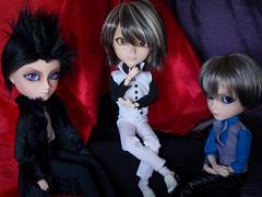 Vampires (gik@h) Tags: black night doll vampire knight dagger brotherhood fashiondoll zero mystic lash gyro kain taeyangdoll motochika rehvenge brdoll