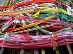 (shadowplay) Tags: thanks thailand buddhism wishes chiangmai prayers offerings spirittree