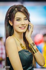 DSC04830 (inkid) Tags: light portrait people woman sexy girl lady female thailand model women pretty dof natural bokeh f14 sony 85mm sigma indoor ambient dslr asiangirl a900 hsm motorexpo gemmiiz chawanakul motorexpo2015