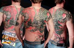 090416_dnn (wentytwan) Tags: dragon workinprogress backpiece coverup fullback fuckyeah dragontattoo tattooartist backtattoo asiantattoo adayswork avantgardetattoo berlintattoo decembersession freestyletattoo wentytwan graphicdragon