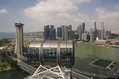 Singapore Flyer View (gregtebble) Tags: singapore aerialview singaporeflyer