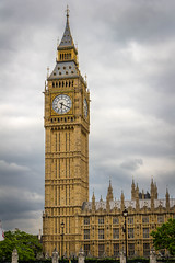 Cloudy Time (andrew.engebretsen) Tags: uk greatbritain travel england london clock tourism europe unitedkingdom parliament bigben sights elizabethtower aemediaphotography andrewengebretsen wwwaemediaphotographycom