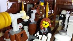 Airship Behemoth (::baz::) Tags: lego steampunk airship moc