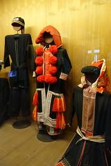 Red dao traditional dress (koukat) Tags: museum vietnam hanoi ethnology