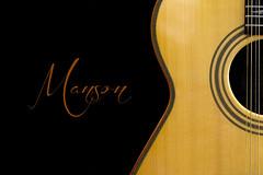 Magnificent Manson (hehaden) Tags: closeup guitar case acoustic strings manson handbuilt andymanson