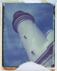NORAH HEAD (Eva Flaskas) Tags: lighthouse colour polaroid head expired norah 195 669 2016 roidweek roidweek2016