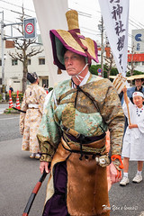 Sakura Parade - Hirano Shrine (Pic_Joy) Tags: portrait festival japan spring kyoto asia blossoms parade celebration bow  arrows  warrior sakura cherryblossoms samurai procession archer  jinja hanami bushi    buke   hirano   hiranoshrine     sakuraparade