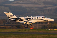 G-TBEA.EDI180416 (MarkP51) Tags: plane airplane scotland airport nikon edinburgh image aircraft aviation edi cessna citationjet cj2 bizjet 525a egph corporatejet gtbea d7200 markp51