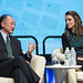 Jim Yong Kim and H.M. Queen Rania