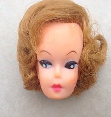 Uneeda Barbie Clone  Before a Makeover! (Retro Mama69) Tags: vintage doll head barbie wendy clone uneeda