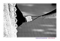 Totus tous (Chema Concellon) Tags: blackandwhite espaa woman blancoynegro easter mujer spain europa europe dof hand arte valladolid desenfoque mano guante turismo cultura fotgrafo piedad semanasanta 2012 estandarte manola tradicin castilla fotografa cofrade tous mantilla penitente procesin hollyweek castillaylen domingoderesurreccin religin devocin cofrada chemaconcelln desenfoqueselectivo valladolidcofrade procesinderesurreccin cofradadenuestraseoradelapiedad