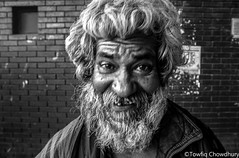 Happy homeless portrait (Towfiq Chowdhury) Tags: portrait smile happy homeless poor poorpeople