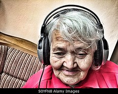 Photo accepted by Stockimo (vanya.bovajo) Tags: old music woman home senior lady female relax women adult natural grandmother song relaxing listening elderly single headphones granny chill hearing iphone iphonegraphy stockimo