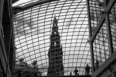 Holy Trinity Leeds (Stuart Tarn) Tags: city england church window architecture blackwhite northwest unitedkingdom leeds shoppingmall gb