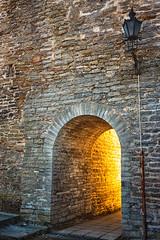 Gate On The Wall (k009034) Tags: old travel light brick wall gate europe tallinn estonia arch baltic medieval countries historical lantern destinations traveldestinations balticcountries 500px teamcanon