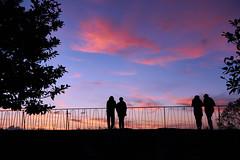 The Show (PacotePacote) Tags: sunset espaa contraluz atardecer spain galicia galiza cielo nubes silueta vigo