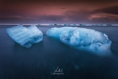 Jkulsrln Beach (fran.llano) Tags: ocean seascape nature beauty landscapes mar iceland islandia amazing agua glacier clean pure hielo icebergs jkulsrln pureza oceand paiajes