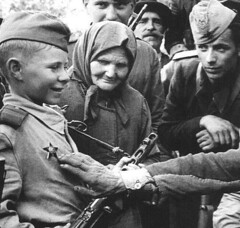 Child Soldier in the Soviet Union, 1944 [935  890] #HistoryPorn #history #retro http://ift.tt/26D2kiR (Histolines) Tags: history soldier child union retro soviet timeline 1944 935 890  vinatage historyporn histolines httpifttt26d2kir