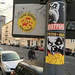 Berlin with ADER (PSYCO ZRCS 10/12) Tags: street berlin art digital graffiti sticker stickerart stickers pole worldwide collab vandalism slap grilled tagging psyco collaboration bombing combo slaps ader stickerculture stickerporn stickerlife ostfug