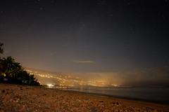 Saint-Leu (frost242) Tags: ocean sea sky beach night dark stars island cityscape indian indianocean run nuit runion saintleu reunionisland poselongue ocanindien salinelesbains