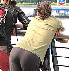 (ManontheStreet2day) Tags: male guy ass butt tshirt hunk bubble stud bubblebutt briefline