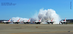 USAF Thunderbirds at March Field (Falanx75) Tags: d800 usafthunderbirds afs70200mmf28gvrii marchfieldarb