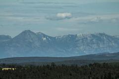 (Daniela Evelyn) Tags: chile blue sky paisajes mountain clouds forest landscapes arboles cielo nubes montaa rocas bosques eucaliptos
