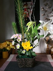 (eyawlk60) Tags: ikebana   flowerarrangement iphone