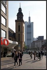 2011-04-27 Frankfurt - St-Katharinen-Kirche & Commerzbank Tower (Topaas) Tags: germany deutschland frankfurt frankfurtammain zeil duitsland commerzbank hauptwache stkatharinenkirche