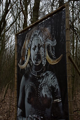 Mursi - Before they pass (caj.sanders) Tags: africa netherlands jimmy great pass nelson zee before exhibition valley they mursi castricum aan nomadic rift
