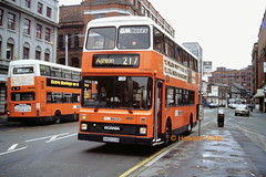 G M Buses 1463 (H463 GVM) (SelmerOrSelnec) Tags: bus manchester scania gmbuses stevensonsquare northerncounties n113 h463gvm