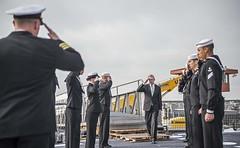 151120-N-KM939-046 (U.S. Pacific Fleet) Tags: japan sandiego navy sailors pacificocean underway sasebo mc3 davidcox guidedmissiledestroyer raymabus 5thfleetaor us5thfleet ddg106 usfleetactivities ussstockdale greatgreenfleet