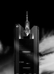 """Skyscraper, Frankfurt, Germany"" (Peter Cohn) Tags: cold building tower architecture skyscraper germany hessen frankfurt bank business commerzbank"