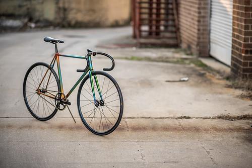 Nicole's Track Bike