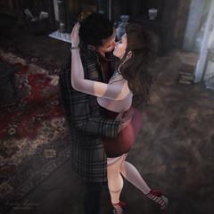 { your arms around me felt like home } (Trinetty Skytower) Tags: love home digital avatar sl secondlife virtual embrace
