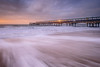After Dawn (Stu Meech) Tags: ocean morning sea sun english sunrise reflecting pier nikon long exposure day waves stu hard lee dorset d750 boxing filters grad bournemouth channel 1635 boscombe meech 06nd 09nd