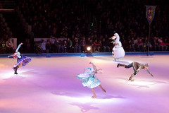 Elsa, Anna & Olaf - Disney On Ice- 100 Years Of Magic - At Wells Fargo Center Philadelphia PA 12-27-15 (MelenaMe) Tags: show snow ice sisters frozen dance snowman dancing iceskating skating disney event twirl characters snowing disneyonice elsaannaolaf
