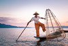 Posing fisherman (d90fz8) Tags: sunset lake see fisherman asia asien sonnenuntergang state dusk burma traditional posing rowing myanmar inle shan birma staat fischer traditionell intha oneleg nyaungshwe ruderer posieren einbein