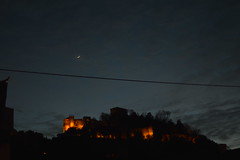 Leiria (PauloConstantino) Tags: moon night castelo lua noite leiria castel
