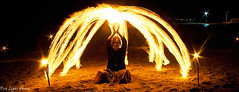 ciarameditate (Fire Light Photos) Tags: light lightpainting beach night dark fire meditate meditation firepainting longexposire