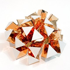 (mike.tanis) Tags: sculpture art architecture paper design origami metallic kinetic kirigami paperfolding papercraft kinematic