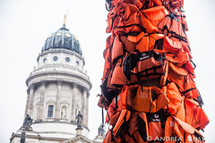 #savepassage..... #AiWeiWei (andrealinss) Tags: berlin refugees gendarmenmarkt mittelmeer konzerthaus aiweiwei festungeuropa savepassage andrealinss flüchlingspolitik flüchtlingsschutz