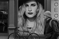She's Got The Look (Jared Chernick) Tags: street blackandwhite newyork manhatten