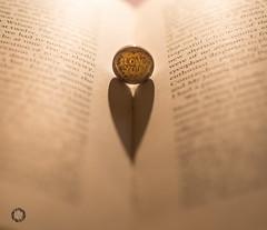 Love Heart (PG_Pix) Tags: wedding shadow love book heart ring dogwood