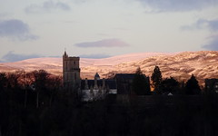 King`s Park Sunset (20) (lairig4) Tags: sunset snow church scotland stirling kingspark guildhall ochilhills holyrude
