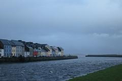 Galway (Iigo Herrero G. A.) Tags: ireland sea house galway clouds river irlanda