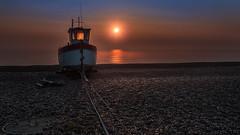 Light through the window (Alec_Hickman) Tags: ocean uk light sea england seascape colour beach water sunrise landscape boat fishing nikon plage waterscape 1635 d810