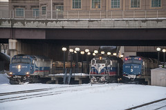 Foreign Invasion (Nick Gagliardi) Tags: railroad port train diesel metro north trains commuter jervis emd gp40fh2 mncw f40ph3c